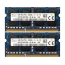 Hynix 8GB 2x4GB Kit 2Rx8 PC3-12800S-11-12-F3...