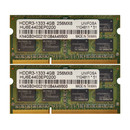 UNIFOSA 8GB 2x4GB Kit HDDR3-1333 4GB 256MX8 SO-DIMM...