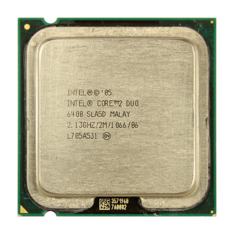 Intel Core 2 Duo E6400 SLA5D 2,13 GHz PLGA775 1066MHz 2MB CPU Prozessor