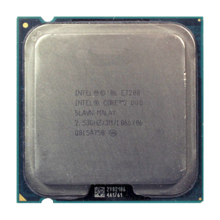 Intel Core 2 Duo E7200 SLAVN 2,53 GHz LGA775 1066 MHz 3MB CPU Prozessor