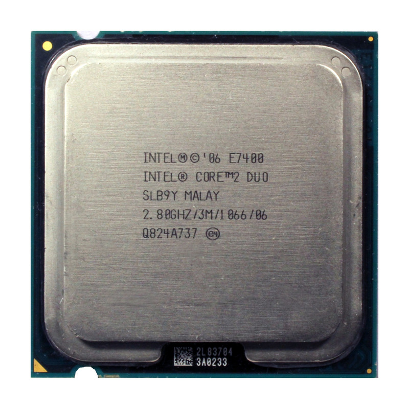 Intel Core 2 Duo E7400 SLB9Y 2,80 GHz LGA775 1066 MHz 3MB CPU Prozessor